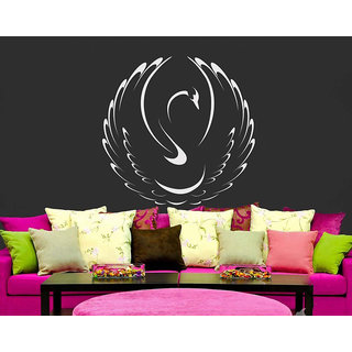 White SwanWall Decal