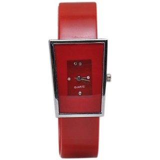 TRUE COLORS RED LOVE SYMBOL Analog Watch - For Girls, Women