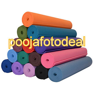 Yoga Mat For exercise Fitness Meditation Yoga GYM Workout ( non-slippery) 4mm