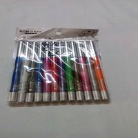 VERY ATTRACTIVE AND ALLURING 12 PCS SET OF BONJOUR LIP AND EYE LINER PENCIL IN DIFFERENT SHADES
