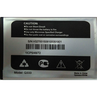 New Replacement Battery FOR Micromax Bolt Q333 1700mAh