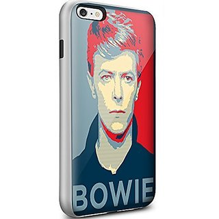 Generic Silica Gel For Men For Iphone 6 Plus Phone Shell Design With David Bowie Personalised Phone Case