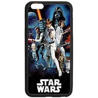 Case For Iphone 6(5.5Inch)And Iphone 6S Plus, 6S Plus Cover,Black/White Sides,Hign Quality Rubber Iphone6 Plus Cases ,Star Wars 6S Plus Cover