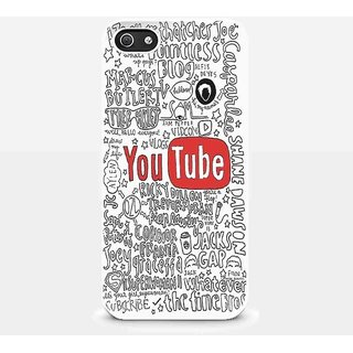 The Youtubers Collage Quotes for Iphone and Samsung Galaxy Case (iPhone 5/5s White)