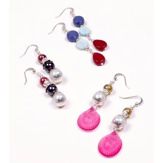 Exclusive Hand-Crafted Dangler Earrings Set by Pink Pitch