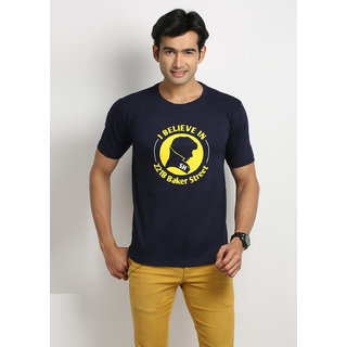 Weardo Sherlock Holmes Round Neck Men's T-Shirt
