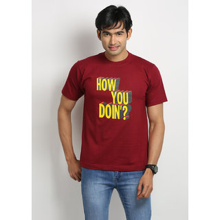 Weardo How You Doin' Round Neck Men's T-Shirt