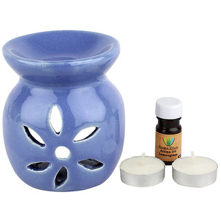 iHomes Aroma Decor assorted colors  Aroma Oil Diffuser with free Tealight