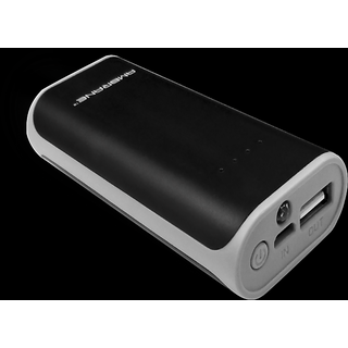 Ambrane P-501 5200mAh Power Bank (black  grey)