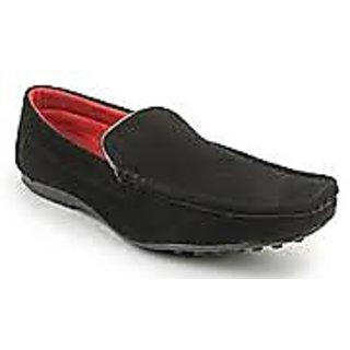 Black  Loafers  Mocassin