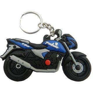 PARRK Pulser 180 Blue Rubber Bike KeyChain