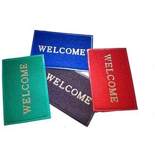 Welcome Door Mat Set Of 4 Pcs