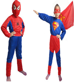 Spiderman  Superman Combo dress For kids