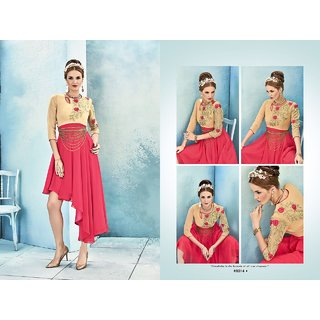Sasya Kurtis Georgette with Inner Santoon.