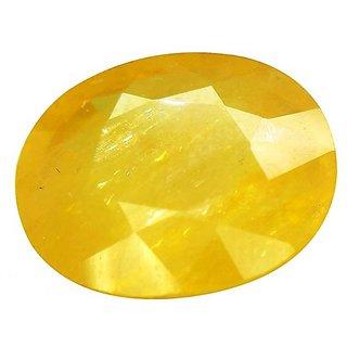 7.25 ratti ceylon yellow sapphire pukhraj