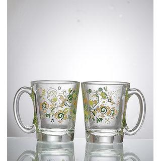 Ocean Little Comfort Green Cups 315 ml - Set of 2
