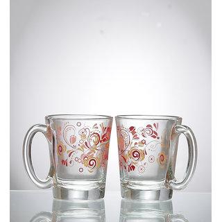Ocean Little Comfort Red Cups 315 ml - Set of 2