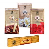 Zed Black Premium Incense Sticks Combo Of Rose, Sandal, Champa With Free Vaayu Natural Incense Stick Worth Rs 75