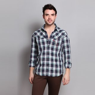 Linen Shirt With Double Inbuilt Pockets