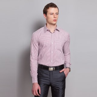 Striped Shirt With Detailed Placket