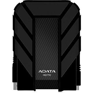 ADATA Dash Drive Durable HD710 Portable External Hard Drive, Black, 1TB