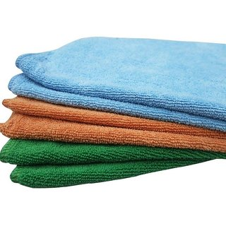 Car Multipurpose Soft Towels Cleaning Drying washing Polishing Pack of 3 (Big Size)
