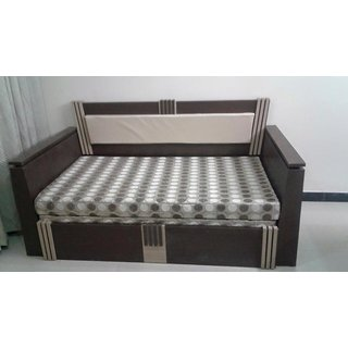 Wooden  FO-SBD10WE Single Size Bed (Wenge)