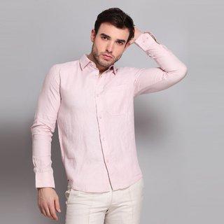 Full Sleeve Solid Linen Shirt