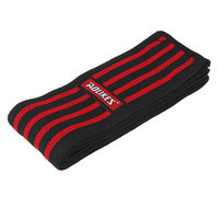 Imported Knee Wrap Power Weight Lifting Squats Support Straps Guard Bandage Black Red