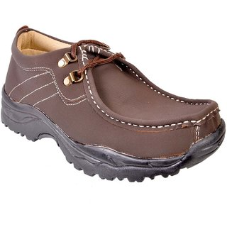 Urban Woods Men's Brown Casual Outdoor Shoes