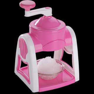 Ice Gola/Snow Maker Machine With 3 Bowls + 1 Glass + 6 Sticks + 1 Ice Snow Dish
