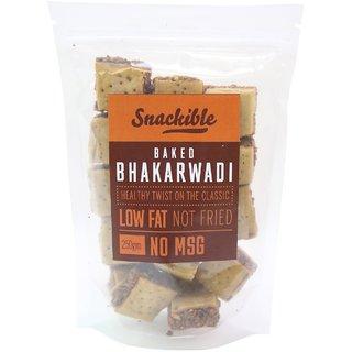 Snackible Baked Bhakarwadi