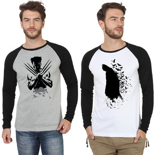 SayItLoud Full Sleeve Printed T Shirt Combo