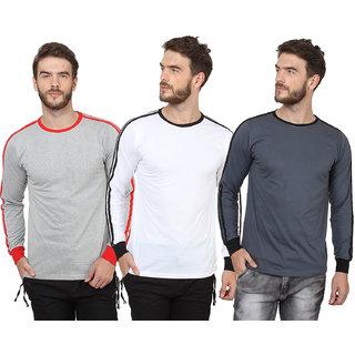 SayItLoud Men's Solid T Shirt Combo