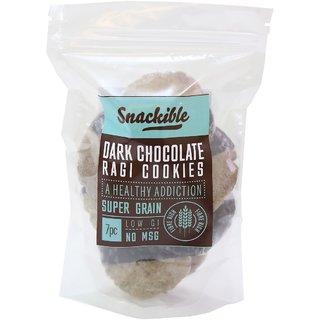 Snackible Dark Chocolate Ragi Cookies