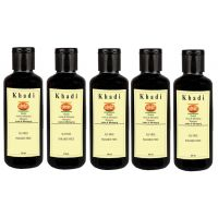 Khadi India Amla  Bhringraj Shampoo (SLS  Paraben Free) 5 Shampoo