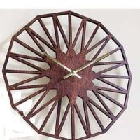 Handmade Wooden Wall Clock For Home Decor