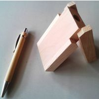 Woodan Pen Stand With Pen