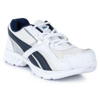 Bustard Comfortable White And Blue Running Shoes (418)