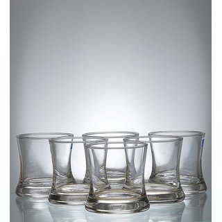 Ocean Tango Rock 255 ml Glasses - Set of 6