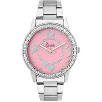 New Cavalli Pink Dial Analog Watch- For Women