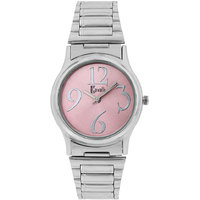 Ritzy Cavalli Pink Dial Analog Watch- For Women