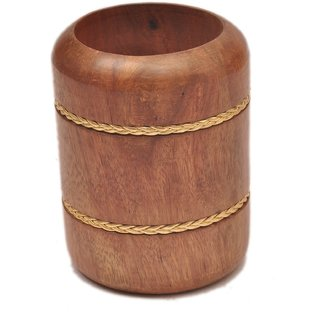 Sparkle India Wooden pen stand