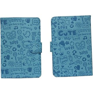 Jojo Flip Cover for HTC Flyer (Light Blue)