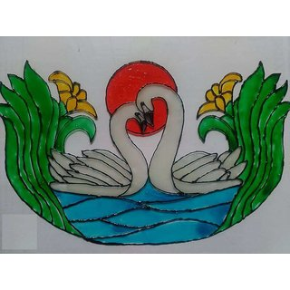 all types of glass paintings