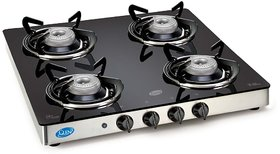 Glen SD GT 4 Burner Automatic (AI) Glass Cooktop