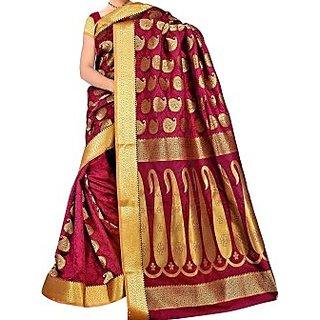 Sarees Woven Kanjivaram Art Silk