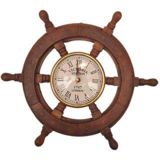b29f3fec325c Buy Sparkle India Wooden Antique wall clock Online - Get 45% Off