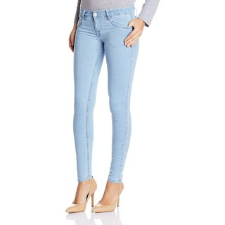 fc6ee57e14 Buy Sky Blue Skinny Fit Jeans For Women Online - Get 82% Off
