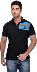 Surly Black Sky Blue Polo T-Shirt